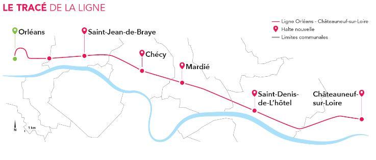 Althéa Ingénierie - Réouverture de la ligne Orléans - Châteauneuf-sur-Loire